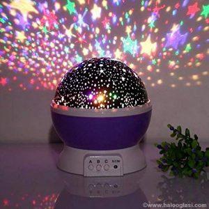 Zvjezdano nebo LED projektor lampa Star Master